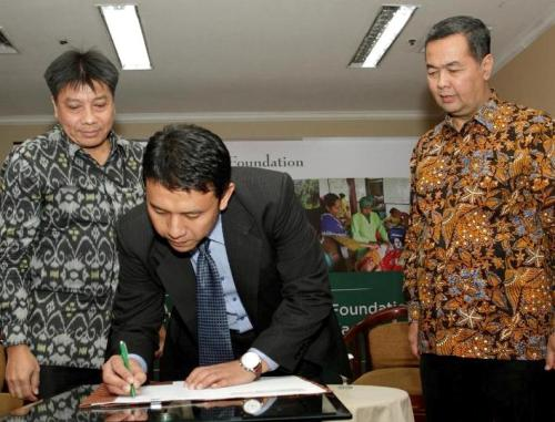 Partnership of Tanoto Foundation with the University of Indonesia
